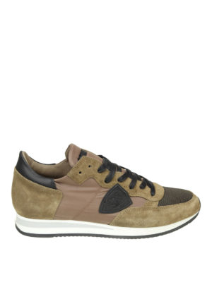 PHILIPPE MODEL: sneakers - Sneaker Tropez in nylon e camoscio