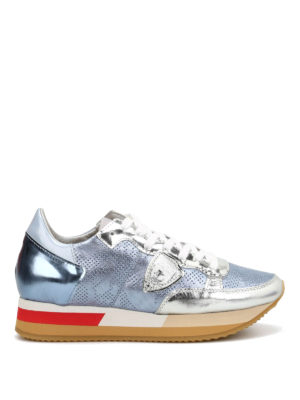 Philippe Model: trainers - Tropez Pretty leather sneakers