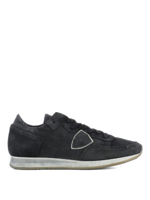 Philippe Model: trainers - Tropez Run black sneakers