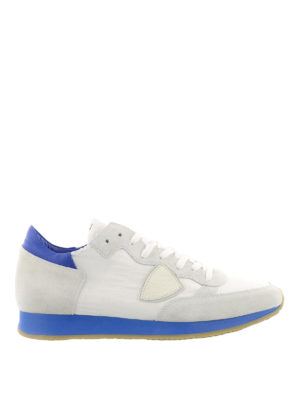 Philippe Model: trainers - Tropez sneakers with blue sole