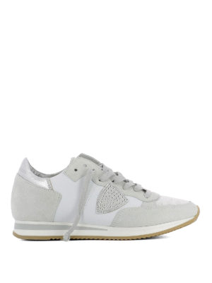 Philippe Model: trainers - Tropez Studs Blanc leather sneakers