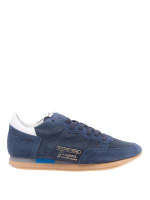 PHILIPPE MODEL: sneakers - Sneaker Tropez Vintage blu