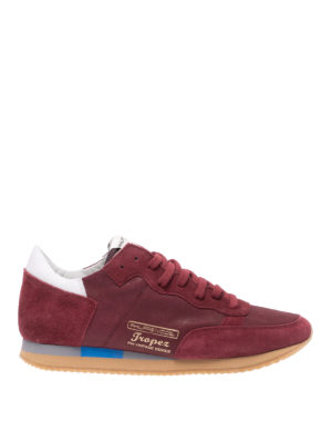 PHILIPPE MODEL: sneakers - Sneaker Tropez Vintage bordeaux