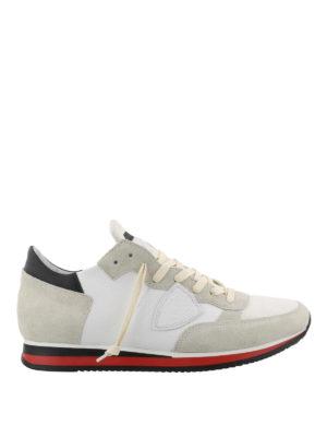 PHILIPPE MODEL: sneakers - Sneaker Tropez bianche e nere