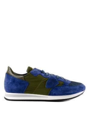 PHILIPPE MODEL: sneakers - Sneaker Tropez bicolori
