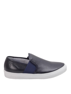 Philippe Model: trainers - Visible elastic leather slip-oms