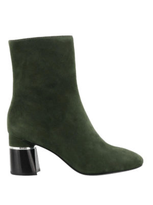 Phillip Lim: ankle boots - Drum military suede booties