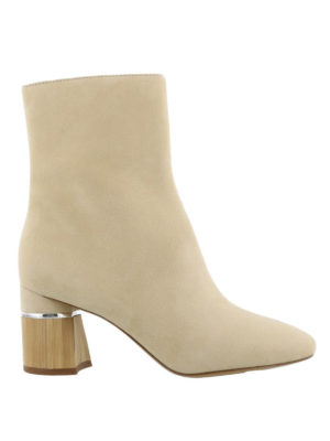 Phillip Lim: ankle boots - Drum suede booties