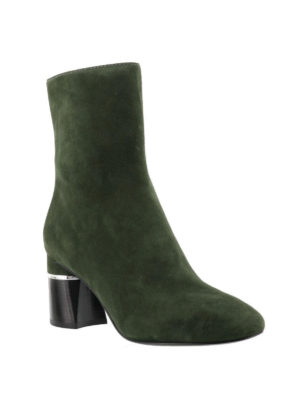 Phillip Lim: ankle boots online - Drum military suede booties