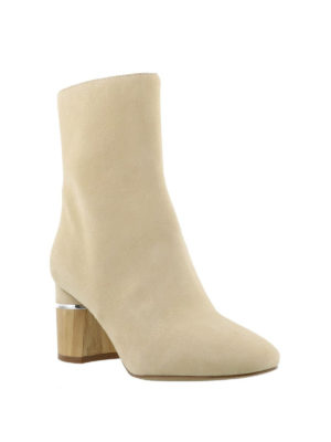 Phillip Lim: ankle boots online - Drum suede booties