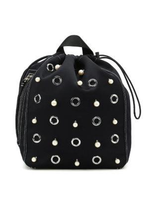 Phillip Lim: backpacks - Go-go satin medium haversack