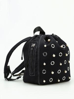 Phillip Lim: backpacks online - Go-go satin medium haversack