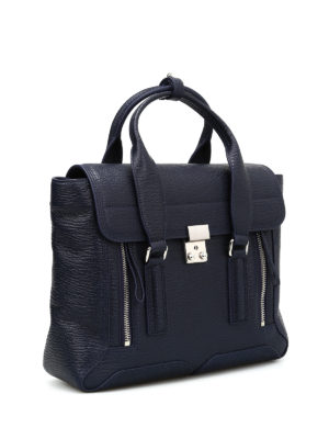 Phillip Lim: bowling bags online - Pashli medium leather bag