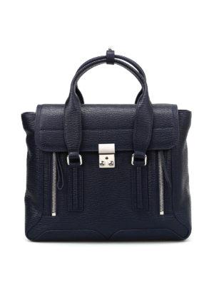 Phillip Lim: bowling bags - Pashli medium leather bag