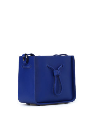 Phillip Lim: Bucket bags online - Soleil cobalt mini bucket bag
