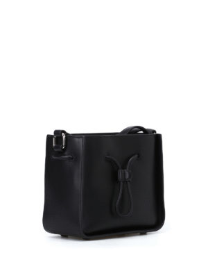 Phillip Lim: Bucket bags online - Soleil mini black bucket bag