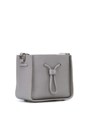 Phillip Lim: Bucket bags online - Soleil mini grey bucket bag