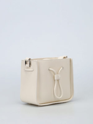 Phillip Lim: Bucket bags online - Soleil off-white mini bucket bag