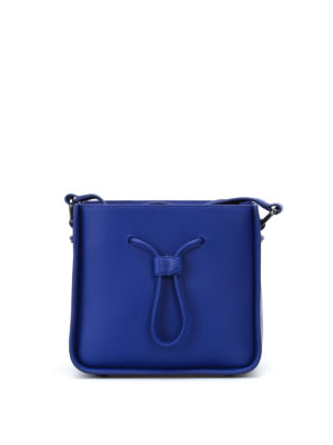 Phillip Lim: Bucket bags - Soleil cobalt mini bucket bag