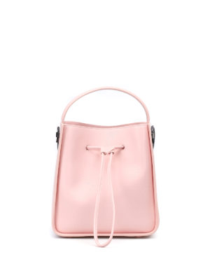 Phillip Lim: Bucket bags - Soleil light pink small bucket bag