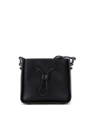 Phillip Lim: Bucket bags - Soleil mini black bucket bag