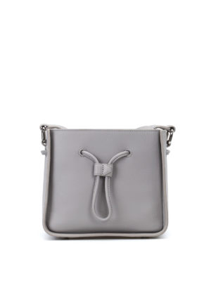 Phillip Lim: Bucket bags - Soleil mini grey bucket bag