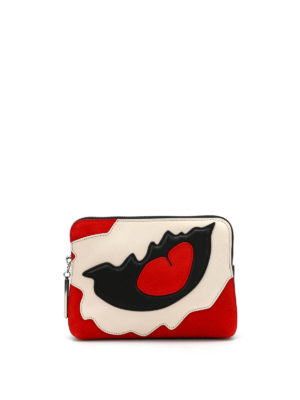 Phillip Lim: Cases & Covers - 31 SECOND PATCHWORK LEATHER POUCH