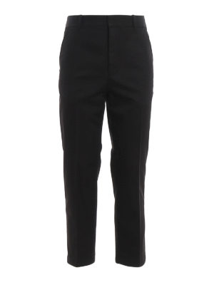 PHILLIP LIM: casual trousers - Cotton twill chino trousers