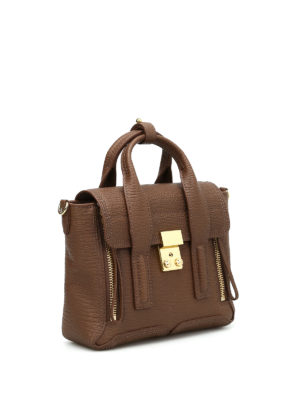 Phillip Lim: cross body bags online - Pashli mini leather bag