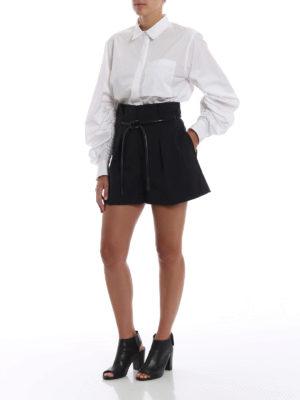 PHILLIP LIM: pantaloni shorts online - Gonna pantalone origami con cintura