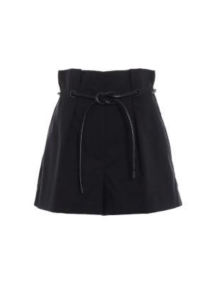 PHILLIP LIM: pantaloni shorts - Gonna pantalone origami con cintura