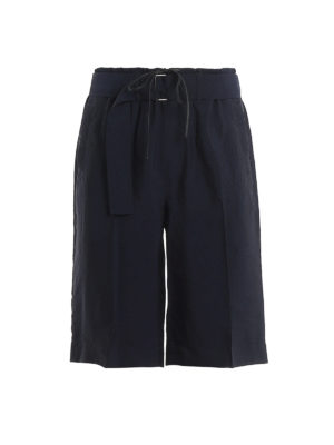 PHILLIP LIM: Trousers Shorts - Belted short trousers