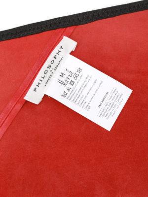 Philosophy di Lorenzo Serafini: belts online - Goat skin maxi belt