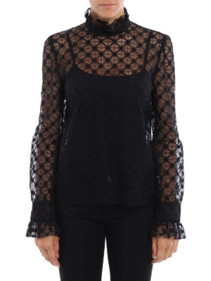 Philosophy di Lorenzo Serafini: blouses online - Liz see-through lace blouse
