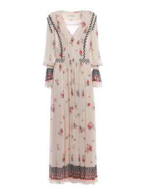Philosophy di Lorenzo Serafini: cocktail dresses - Floral chiffon long dress