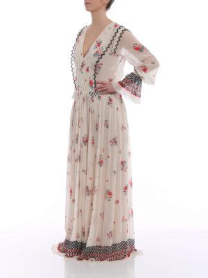 Philosophy di Lorenzo Serafini: cocktail dresses online - Floral chiffon long dress