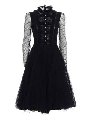 Philosophy di Lorenzo Serafini: evening dresses - Embellished tulle and lace dress