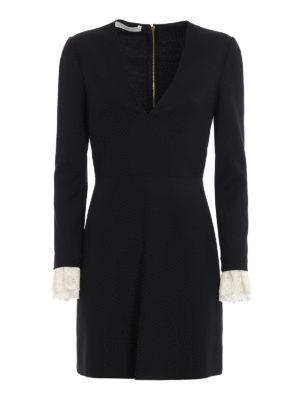 Philosophy di Lorenzo Serafini: evening dresses - Lace cuffs detailed dress