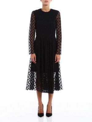 Philosophy di Lorenzo Serafini: evening dresses online - Macramé and lace dress