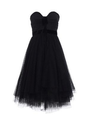 Philosophy di Lorenzo Serafini: evening dresses - Tulle skirt flared strapless dress