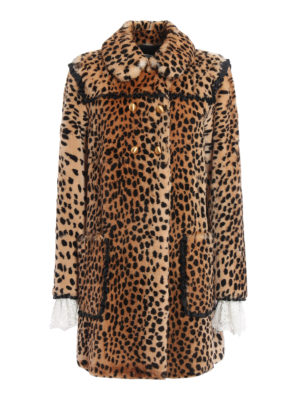 Philosophy di Lorenzo Serafini: Fur & Shearling Coats - Animal print fur coat