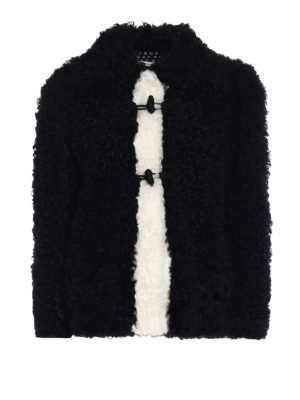 Philosophy di Lorenzo Serafini: Fur & Shearling Coats - Frog fastened fur short coat