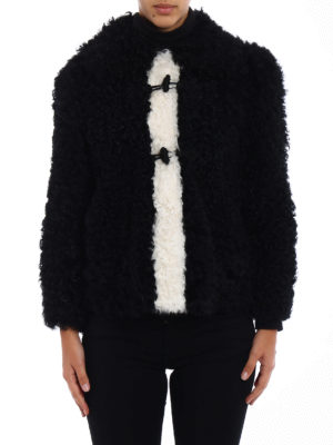 Philosophy di Lorenzo Serafini: Fur & Shearling Coats online - Frog fastened fur short coat