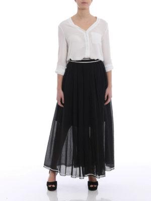Philosophy di Lorenzo Serafini: Long skirts online - Cotton muslin long skirt