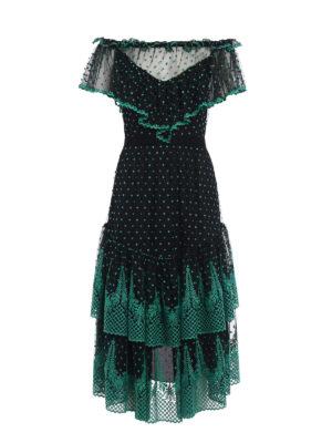 Philosophy di Lorenzo Serafini: maxi dresses - Embroidered lace maxi dress