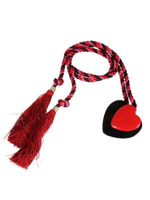 Philosophy di Lorenzo Serafini: cinture online - Cintura in corda con fibbia cuore