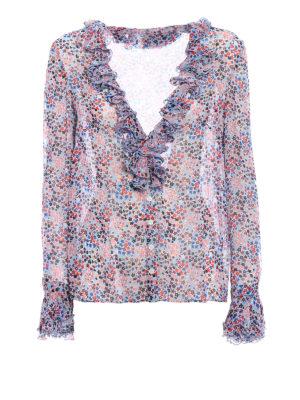 Philosophy di Lorenzo Serafini: shirts - Viscose flounced shirt