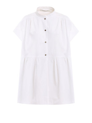 910d36571b49a Philosophy di Lorenzo Serafini  camicie - Camicia in puro cotone con balza