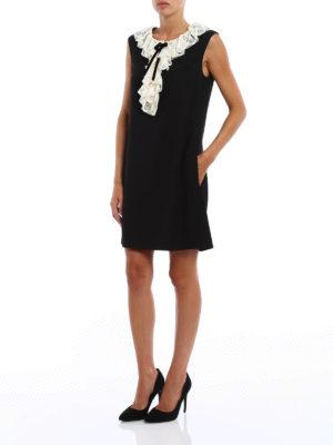 Philosophy di Lorenzo Serafini: short dresses online - Short dress with lace insert
