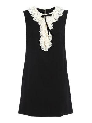 Philosophy di Lorenzo Serafini: short dresses - Short dress with lace insert